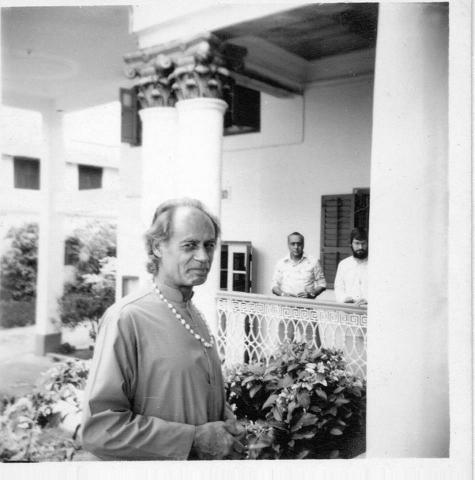 Bro. Anandamoy, Calcutta, 1980SM