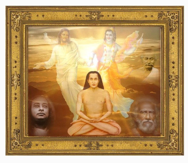 Babaji and Gurus framed