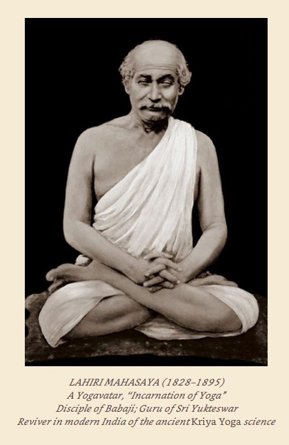 Lahiri Mahasaya Original Photo And Two Paintings