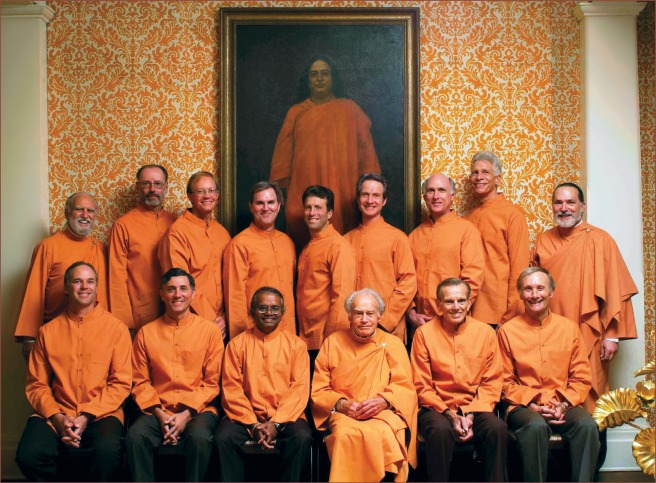 Anandamoy with new initiats,