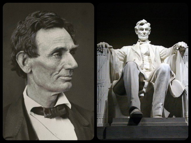 lincoln-memorial-portrait-collage