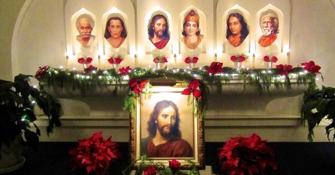 BANNER CROP Yogananda and Jesus ~ The Second Coming of Christ