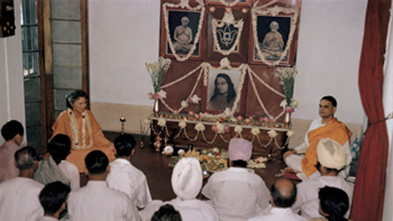 DM and SS kriya ceremony 1964