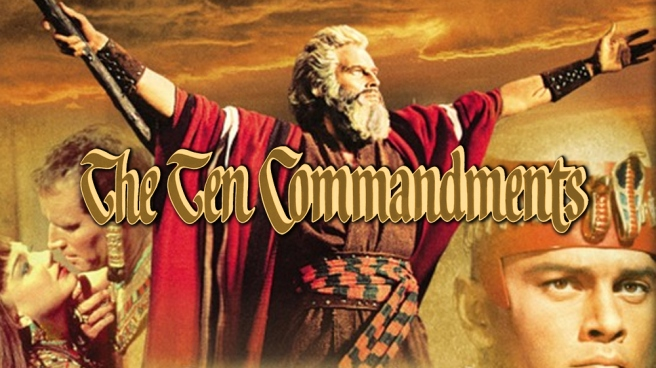 moses the ten commandments