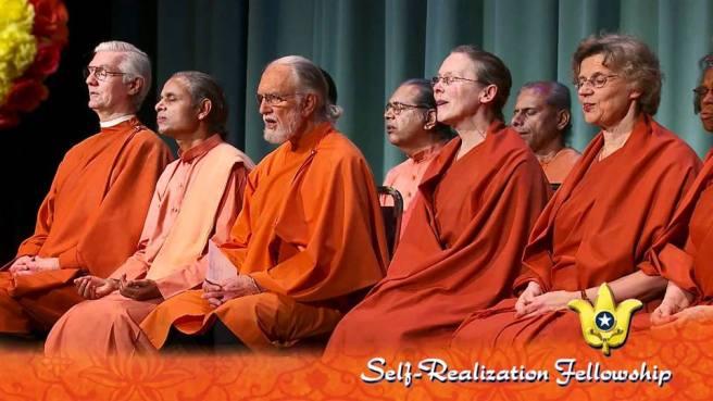 SRF nuns monks DM memorial