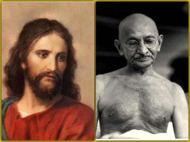 Jesus Gandhi _Collage