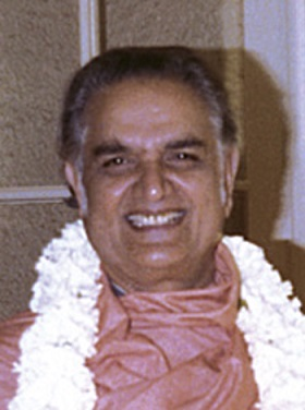 one of last photos, Shyamananda 80