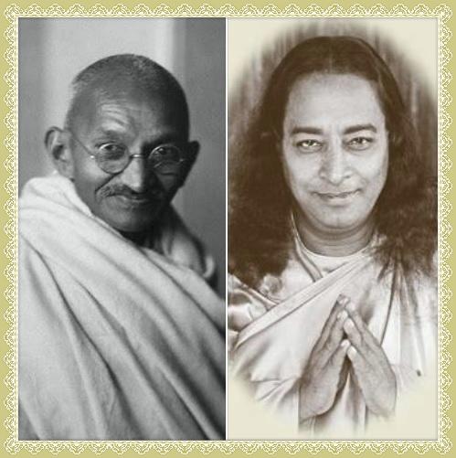 The Mystery Of Mahatma Gandhi Paramahansa Yogananda 1932 Yogananda Site
