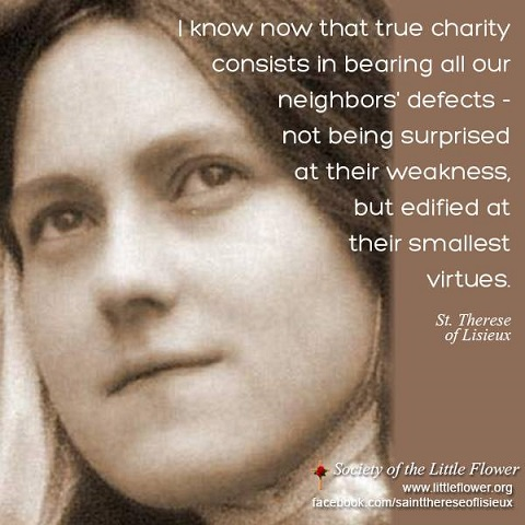 St Therese Of Lisieux Quotes | St Therese Of Lisieux Quotes From Srf Monastics Yogananda Site